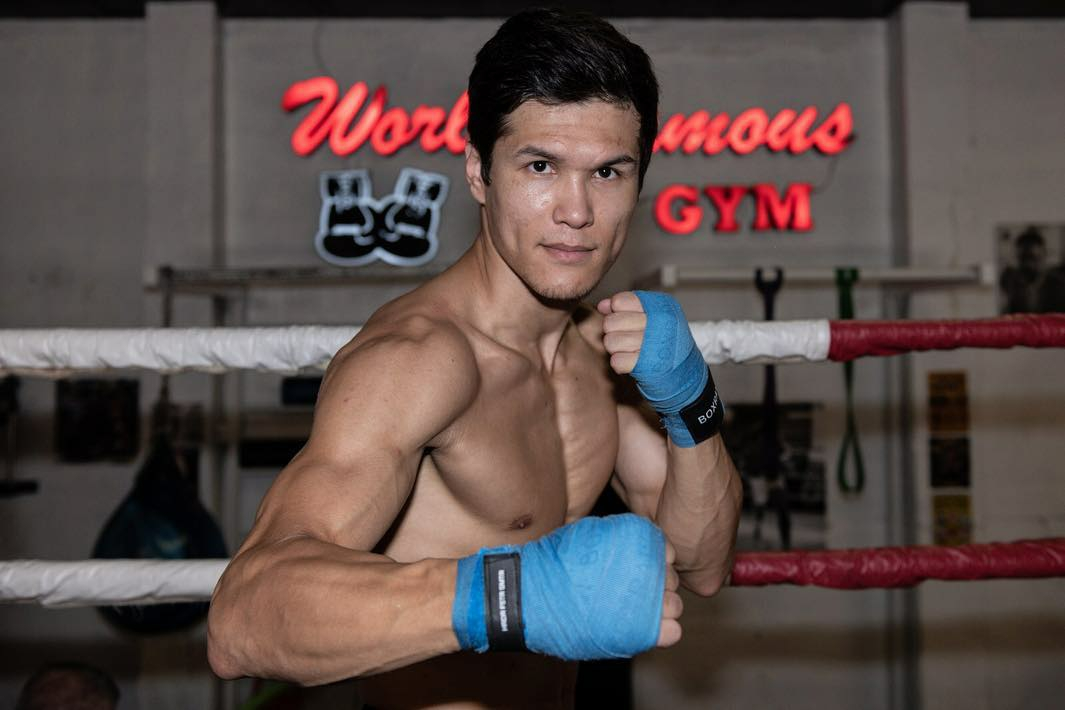 Undefeated Welterweight Daniyar Yeleussinov now a Promotional Free Agent